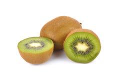 Kiwifruit op witte achtergrond, macro Stock Afbeelding