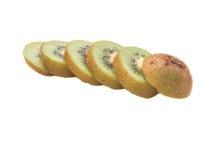 Kiwifruit. Sliced kiwifruit, greate colour kiwi fruit Stock Photography