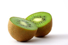 Kiwifruit slices Stock Photos