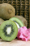 Kiwifruit - vertical Stock Photos