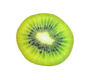 Kiwifruit white background. Kiwi fruit white background health Stock Photography
