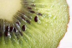 Kiwifruitmakro Stockfoto