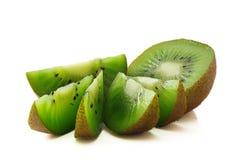 Kiwifruitscheiben lizenzfreies stockfoto