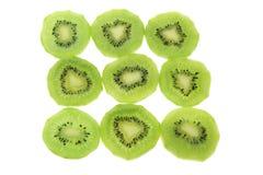 kiwifruitskivor arkivfoton