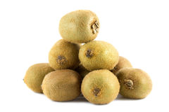 kiwifruitsstapel Fotografering för Bildbyråer