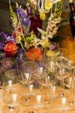 Kiwii di vetro del partito di vetro della bevanda Fotografia Stock