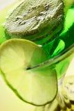 kiwilimefruktskivor Royaltyfri Fotografi