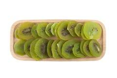 Kiwin torkade - frukt royaltyfria bilder