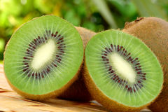 Kiwis. Delicious fresh kiwis with natural background stock photo