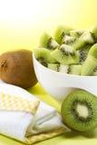 Kiwis bowl Stock Images