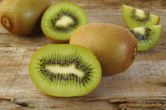 Kiwis coupés en tranches Photo libre de droits
