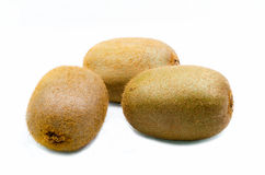 Kiwis. Delicious kiwis on white background stock photo