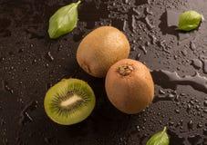 Kiwis frais délicieux Photos libres de droits