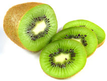 Kiwis: fresh and fruity!. A kiwi full of vitamin C Royalty Free Stock Image