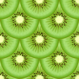 Kiwis fruit seamless texture Stock Photos