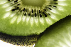 Kiwis. A healthy, tasty and pretty fruit. Macro Photo. Macro Photo royalty free stock images