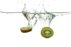 Kiwis making a splash Royalty Free Stock Photography