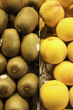 Kiwis and Peaches Stock Photo