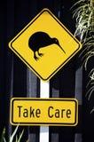 kiwivägmärke Fotografering för Bildbyråer