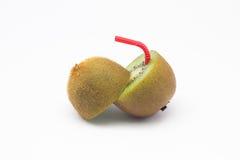Kiwivruchten het natuurlijke voedsel van het gewichtsverlies stock fotografie