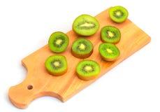 kiwivruchten op cutboard Stock Foto