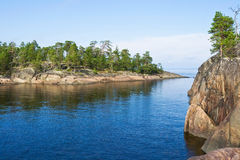 kiy的海岛 免版税库存图片