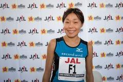 Kiyoko Shimahara at press conference Stock Photo