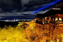 Kiyomezudera shrine in Kyoto Japan Royalty Free Stock Image