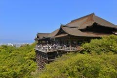 Kiyomizu寺庙,京都 库存图片