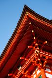 kiyomizu寺庙 库存照片