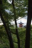 Kiyomizu寺庙 免版税图库摄影