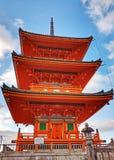 Kiyomizu świątynia obrazy stock