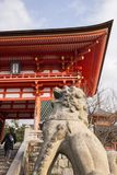 Kiyomizu świątynia Kyoto, Japonia Fotografia Stock