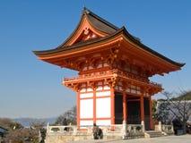 висок kiyomizu Стоковые Фотографии RF
