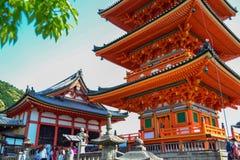 Kiyomizu Foto de Stock