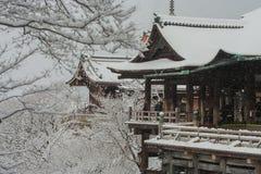 Kiyomizu-dera Świątynia Obraz Stock
