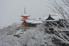 Kiyomizu-dera Świątynia Obrazy Royalty Free