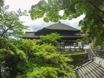 Kiyomizu-Dera της Ιαπωνίας Κιότο Στοκ εικόνα με δικαίωμα ελεύθερης χρήσης