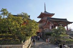 kiyomizu dera Στοκ Εικόνα