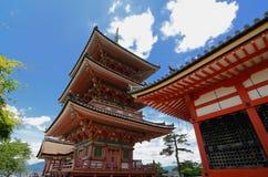 Kiyomizu-Dera Fotografia de Stock
