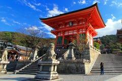 Kiyomizu-Dera royalty-vrije stock foto's