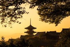 Kiyomizu-dera Arkivfoto