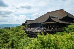 Kiyomizu-dera Zdjęcie Royalty Free