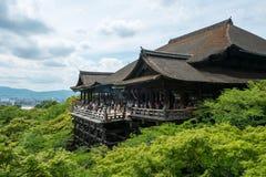 Kiyomizu-dera Zdjęcie Stock