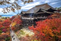 Kiyomizu-dera Arkivbild