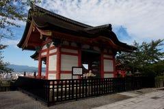 Kiyomizu-dera Imágenes de archivo libres de regalías
