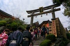 Kiyomizu Dera Fotografía de archivo libre de regalías