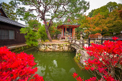Kiyomizu-Dera Buddhist temple in Kyoto Royalty Free Stock Photos