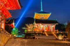 Kiyomizu-Dera Buddhist temple in Kyoto, Japan Stock Image