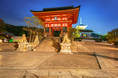 Kiyomizu-Dera Buddhist temple in Kyoto, Japan Royalty Free Stock Photos